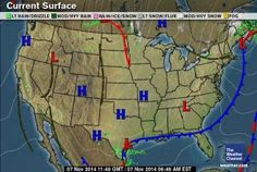 Latest Us Weather Map