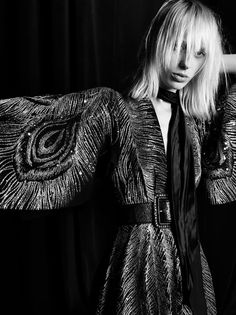 She's the daughter of ravens • lxst-nxght: Saint Laurent Fall/Winter 2016-2017