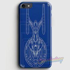 Star Trek Spaceship Blueprint iPhone 7 Case   casefantasy
