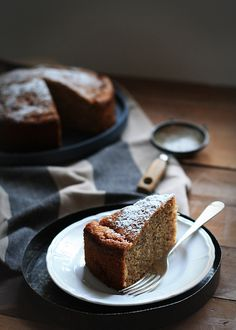 The Gluten Free Scallywag Lactose Free Banana Cake by The Gluten Free Scallywag, via Flickr