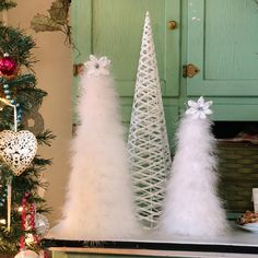 30 Magical Feather Christmas Tree Decoration Ideas - Christmas Celebrations