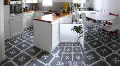 Encaustic cement tiles photo gallery – hotels, kitchens, bathrooms
