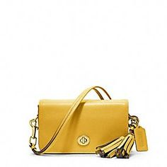 LEGACY LEATHER PENNY SHOULDER PURSE | Similar styling by COACH in taupe missing