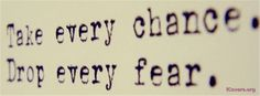 Fear Quotes FB Covers