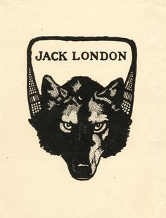 [Bookplate for] Jack London.