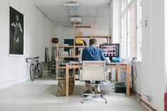 David Fischer's studio in Berlin / photo by Philipp Langenheim