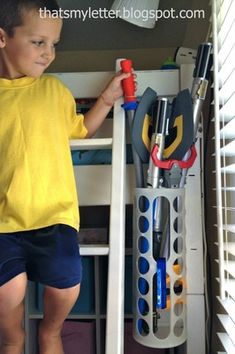 21 IKEA Toy Storage Hacks Every Parent Should Know! - - Sharing 21 awesome IKEA storage hacks for all your kids toys. These IKEA toy storage hacks will help you to get organised on a minimum budget. Nerf Gun Storage, Ikea Toy Storage, Storage Hacks, Diy Storage, Weapon Storage, Storage Organization, Ikea Variera, Ikea Toys, Ikea Makeover