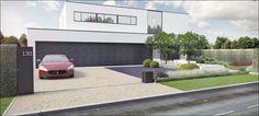 ECO Tuinarchitectengroep | 3D projecten | Tuin moderne woning