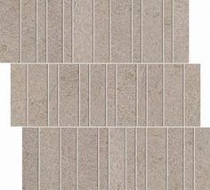 "#Interceramic - Advance Grigio Lipica 11 3/8"" x 11 7/8"" Pillar Mosaic"