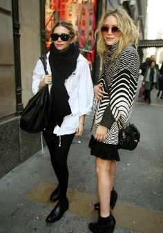 Outside Barneys? That's our girls.