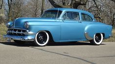 1954 Chevrolet Bel Air. Sweet Paint and Wheels!