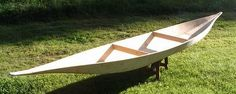 "Check out this amazing 18' canoe made from a single sheet of plywood. Resembling a South American ""pipante"" dugout canoe, Finnish boat builder Hannu Vartiala designed and built his craft, ""dug"", in an attempt to correct balancing issues he had with a previous design. He's also put up instructions on his site so you can build your own. It sure is an impressive example of maximum use of materials with minimal effort."