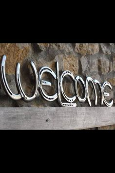 """Horseshoe Welcome"""""""