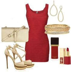 Wow love the color red.So classy and pretty ;~)!!