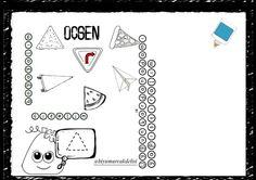 sayfa 4 üçgen Robot, Diy And Crafts, Bullet Journal, School, Geometric Fashion, Shapes, Different Shapes, Learning, Robots