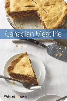 Brenda W. from Store 2332 in St. Albans, Vt., makes her Canadian Meat Pie at the holidays, and she often quadruples the recipe to give the pies as gifts. #dinner #beef #easy