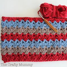 Crochet Blanket with Patons Inca