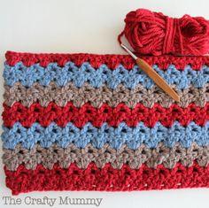Crochet Blanket with Patons Inca