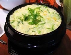 Steamed egg in an earthenware bowl / 뚝배기 계란찜 / Ttukbaegi gyeranjjim | Maangchi