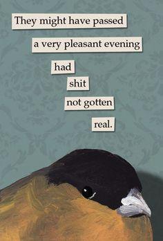 !  Evening - bird