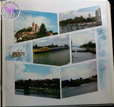 Auf dem Rhein in Breisach