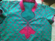 Chudithar Neck Designs, Chudidhar Designs, Dress Neck Designs, Salwar Neck Patterns, Salwar Neck Designs, Blouse Patterns, Simple Kurti Designs, Kids Blouse Designs, Blouse Models