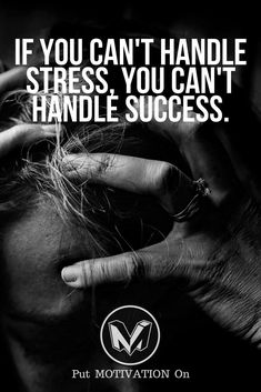 Handle stress to handle success Motivational Quotes For Life, Success Quotes, Life Quotes, Inspirational Quotes, Things To Do Today, Quote Posters, Business Quotes, Motto, Entrepreneurship