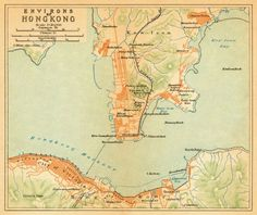 Environs of Hong Kong - 1920: