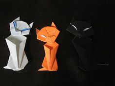 Origami Cat Tutorial