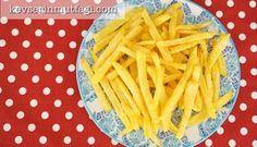Çıtır Patates Kızartması (Videolu Tarif)