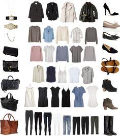 """50 Item Capsule Wardrobe"" by keelyhenesey ❤ liked on Polyvore"