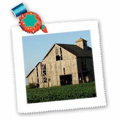 qs_7654_1 Cassie Peters Photography - Rural Iowa Barn by Angelandspot - Quilt Squares - 10x10 inch quilt square 3dRose,http://www.amazon.com/dp/B004XYBH0Q/ref=cm_sw_r_pi_dp_tuuwtb0NFVJM0559
