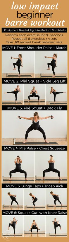 Low Impact Beginner Barre Workout + Release of The Baby Bump Fitness System