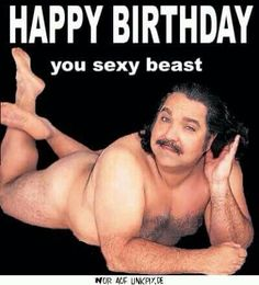 Birthday old man stripper ecards