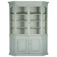 *Curved Glass Front Cabinet | BelleEscape.com