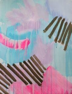 Kayla Newell - Painterly and Geometric | Patternbank