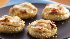 Gruyere-Bacon Pizza Minis - entered into Pillsbury Bake-Off by a local cook!  GO PEGGY!!!