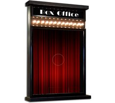 DTB Ticket Booth : Deluxe Ticket Booth Available in Many Color Choices Home Theater Decor, At Home Movie Theater, Home Theater Design, Tech Art, Alone Movies, Theater Seating, Toy Rooms, Commercial Interiors, The Ranch