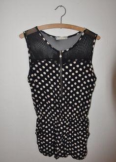 Kaufe meinen Artikel bei #Kleiderkreisel http://www.kleiderkreisel.de/damenmode/jumpsuits/139645559-gepunkteter-jumpsuit
