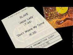 "SLAVE - JAZZY LADY - 12"" 1985 - Soul Jazz Funk Rare 80s Groove"