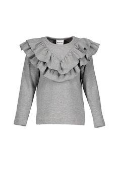 Metsola AW17 Frilla T-shirt Grey Melange