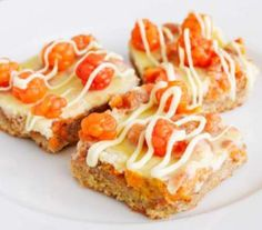 Cloudberry-white chocolate pie..mmm You've got to taste this
