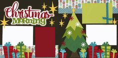 Christmas Morning Page Kit  Out on a Limb Scrapbooking