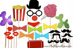 The DELUXE CARNIVAL Collection  24 piece set  by TheManicMoose