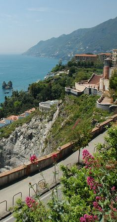 This was our daily walk from our hotel to town  Vietri sul Mare, Amalfi Coast, Italy