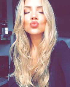 """Elanna Pecherle on Instagram: """"New @luxyhair in Dirty blonde"""