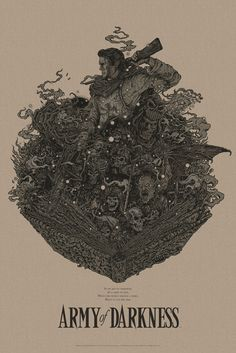 mondo-posters-for-evil-dead-ii-and-army-of-darkness4