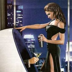 Sultry Skyy Vodka Ad