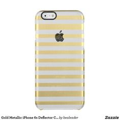 Gold Metallic iPhone 6s Deflector Case Uncommon Clearly™ Deflector iPhone 6 Case