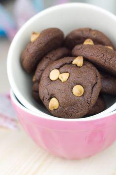 Objetivo: Cupcake Perfecto.: Operación Bikini con Cookies de chocolate y mantequilla de cacahuete
